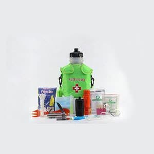 seychelle 42 oz advanced radiological canteen kit